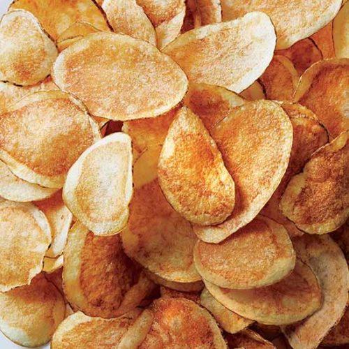 Mājas kartupeļu čipsi