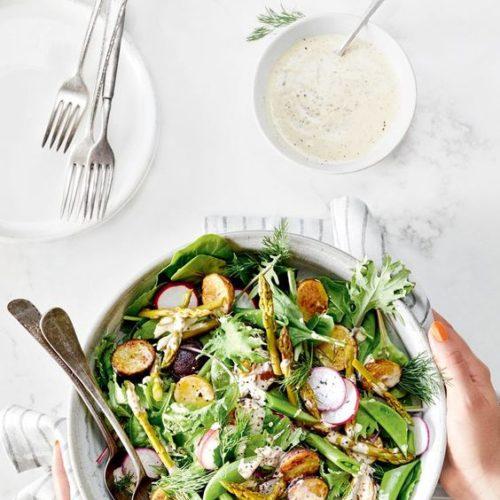 Sparģeļu salāti